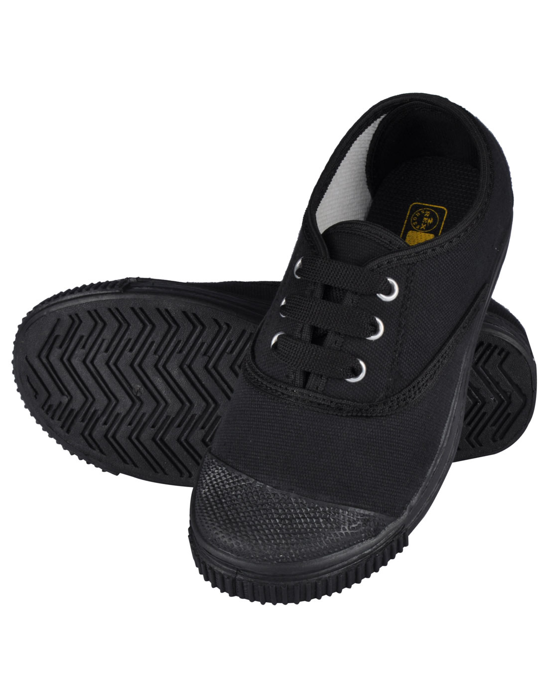 Tennis Shoes Black | Rex Shoes