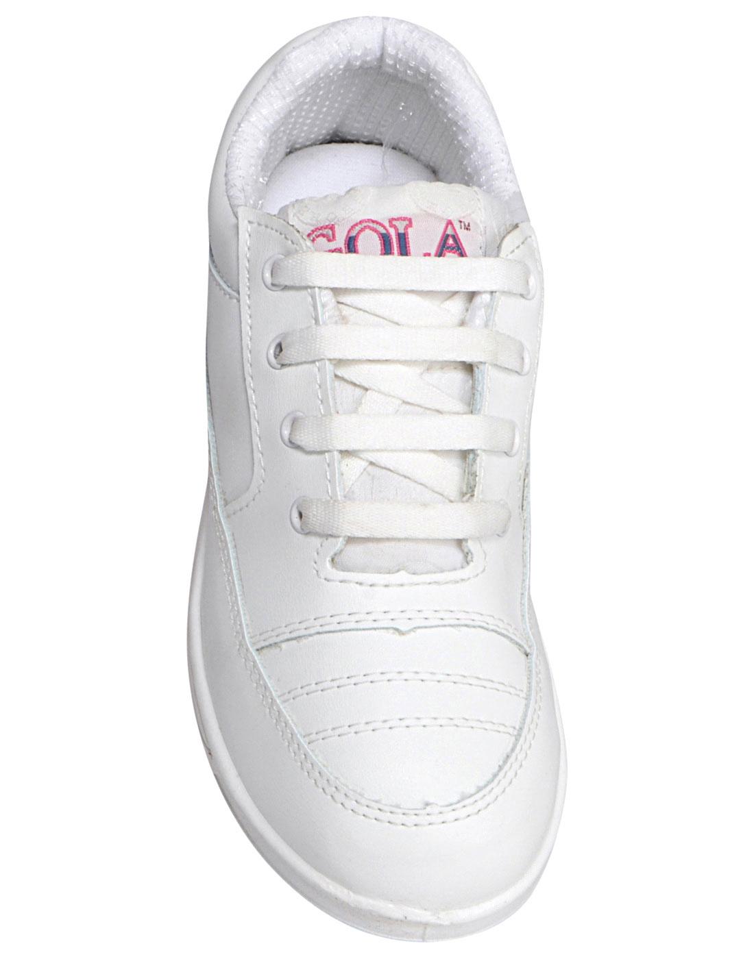 rex gola black school shoes new